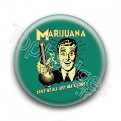 Badge Marijuana