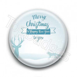 Badge Merry Christmas to you