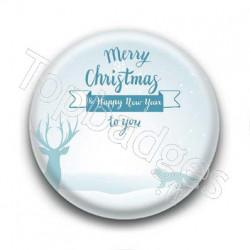 Badge Merry Christmas to you