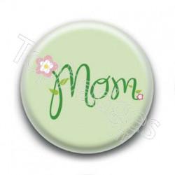Badge Mom Vert