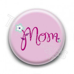 Badge Mom Violet
