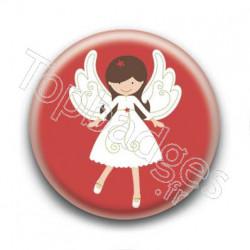 Badge Ange de Noël