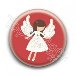 Badge Ange de Noël 2