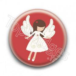 Badge Ange de Noël 2
