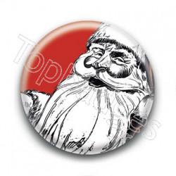 Badge Père Noël Coca
