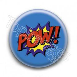 Badge Pow Super Héros