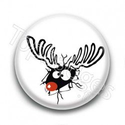 Badge Rudolphe Renne Timbré