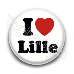 Badge I Love Lille