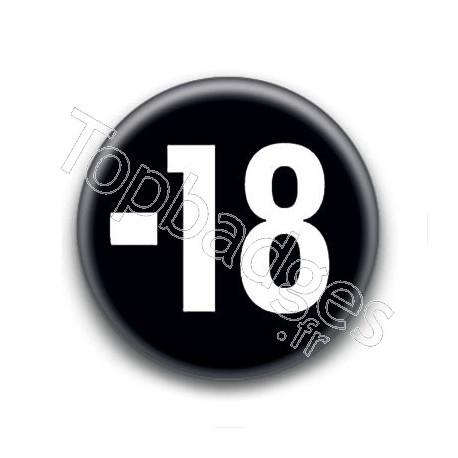 Badge : -18