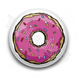 Badge Donut Simpson