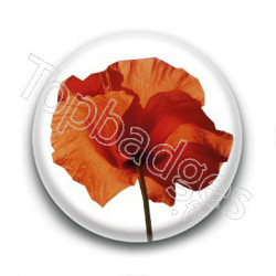Badge Coquelicot