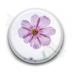 Badge Fleur Rose