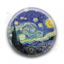 Badge : Ciel étoilé, Van Gogh