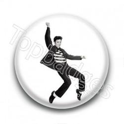 Badge : Danse, chanteur Elvis Presley