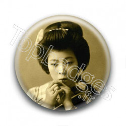 Badge : Geisha