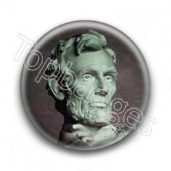 Badge Statue de Lincoln