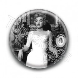 Badge Actrice Marilyn Monroe Soirée