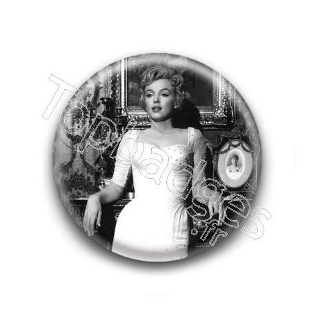 Badge : Soirée, actrice Marilyn Monroe