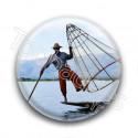 Badge Pêcheur Traditionnel