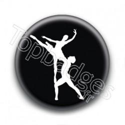 Badge Couple de Danse Classique