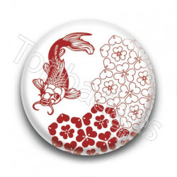 Badge Carpe Koi