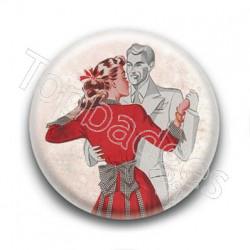 Badge Danse Vintage