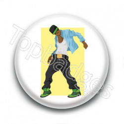 Badge Danse Hip Hop Homme