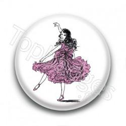 Badge Fillette Dansant