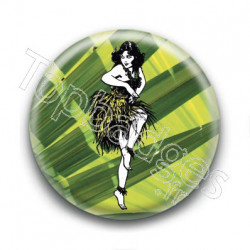 Badge Danse Hawaïenne