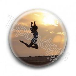 Badge Danse à la Plage