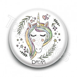 Badge Licorne Dream