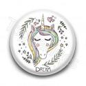 Badge Licorne Dream