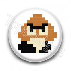Badge Goomba 8 Bit