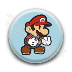 Badge Cute Mario
