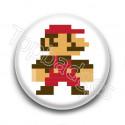 Badge Mario Color 8 Bit