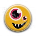 Badge Monstre Jaune