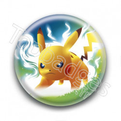 Badge Pikachu Attaque Eclair