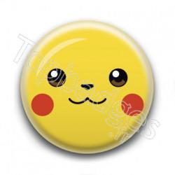 Badge : Tête de Pikachu
