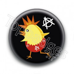 Badge Poussin Anarchiste