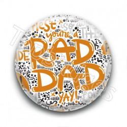 Badge Rad Dad