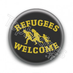 Badge Refugees Welcome