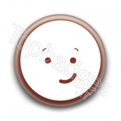 Badge Cute Smiley Sourit