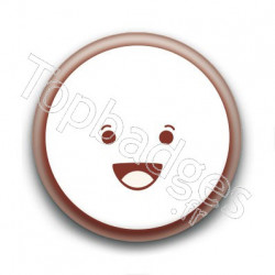 Badge Cute Smiley Content
