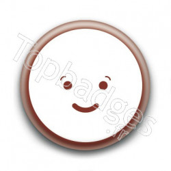 Badge Cute Smiley