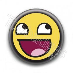Badge Smiley Troll