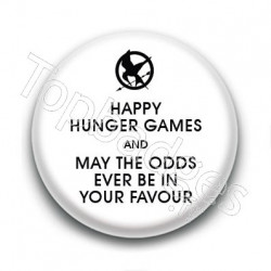 Badge Happy Hunger Games