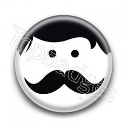 Badge Smiley Dandy