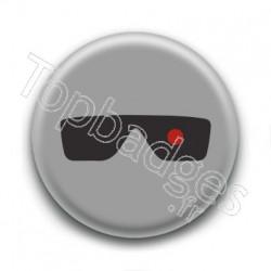 Badge Lunettes Terminator