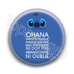 Badge Ohana Stitch