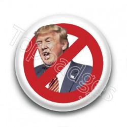 Badge Interdit à Trump